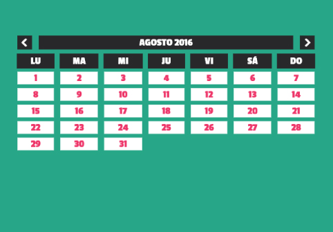 Calendario Majareta