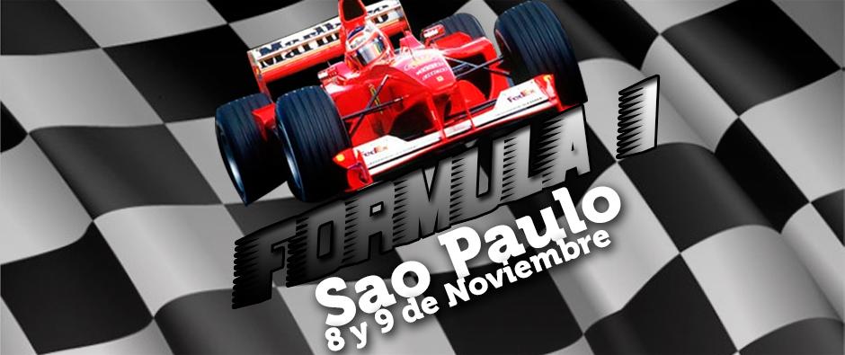F1 en Sao Paulo