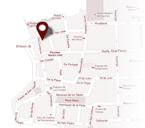 Mapa ubicacion Servicios Nauticos