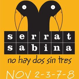 SERRAT  SABINA - 2, 3, 7, 8 de Noviembre