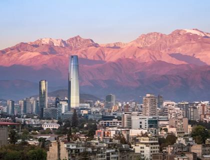 Cordillera al Sol, Mendoza y Santiago