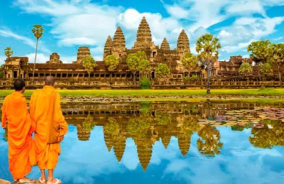 Laos Tailandia y Camboya