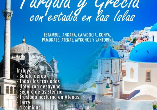Turquía Atenas con estancia en islas - Salida Grupal